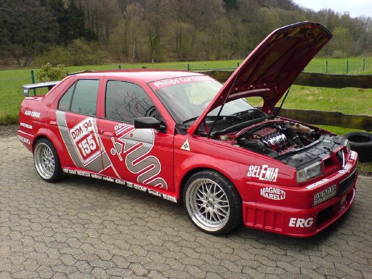 Alfa romeo 156 25 v6 24v tuning